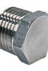 """BREWERS BEST 1/2"""" NPT STAINLESS STEEL HEX PLUG FOR KETTLES"""