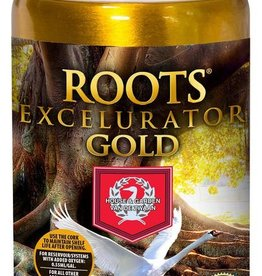 HOUSE & GARDEN Roots Excelurator is the most powerful root stimulator available in today's market. Using only 1.1ml per gallon (this is the least expensive rooting agent per gallon of feed water on the market), Roots Excelurator will provide explosive root growth and ri
