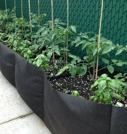 SMARTPOTS Smart Pot® new fabric raised bed—a size for every situation. Smart Pot® Long Bed Pots come in 6 ft, 8 ft and 12 ft long x 16 in wide and tall. Inserts placed internally in bed aid in keeping raised beds upright. Perfect for large garden installations; no