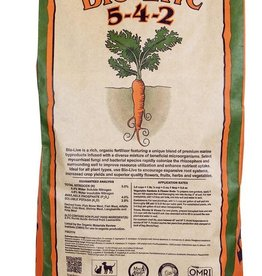 Down To Earth™ Down To Earth Bio-Live - 25 lb<br /> <br /> A rich, organic fertilizer mix infused with a generous amount of beneficial bacteria and mycorrhizal fungi to stimulate rooting, vigor and optimum plant development. Bio-Live encourages rapid colonization of soil and soille