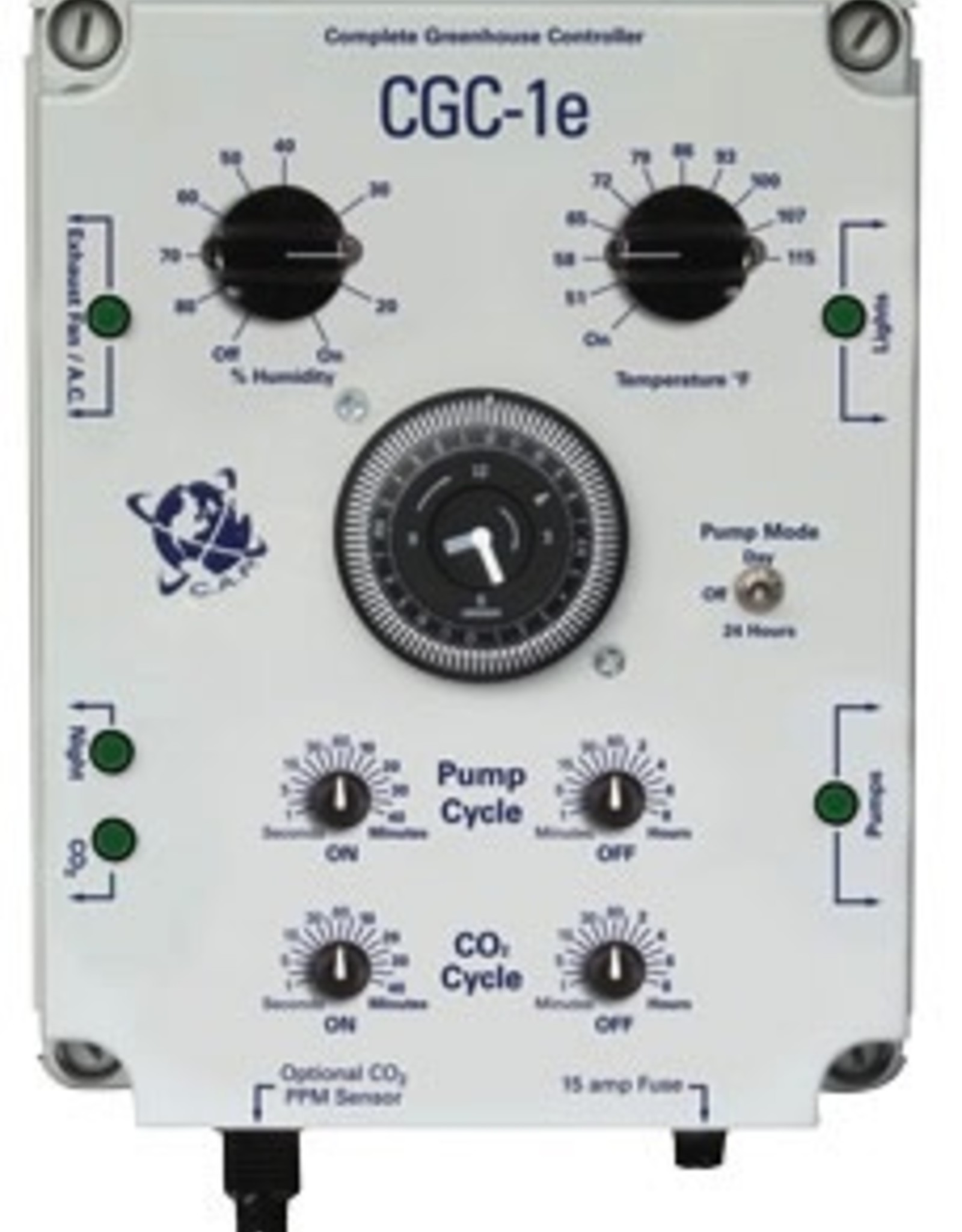 CAP CGC-1e Complete Greenhouse Controller (w/ppm option)