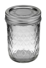 Ball Ball Jar, 8 oz, Quilted Crystal, Case of 12