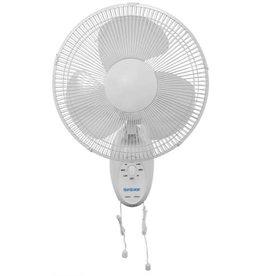 HURRICANE Hurricane Supreme Oscillating Wall Mount Fan 12 in