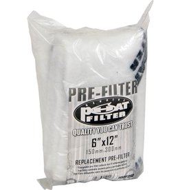 "Phat Filters Phat Pre-Filter, 6"" x 12"""