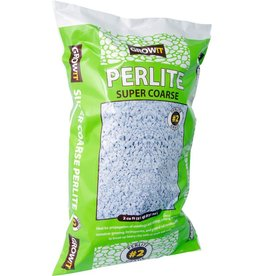 GROWIT GROW!T Perlite is a versatile and inert soil amendment and soilless medium. Use it to aerate soil in container gardening, for germination and propagation of seedlings, for propagation of cuttings, and as a hydroponic medium. Hydrofarm searched globally an