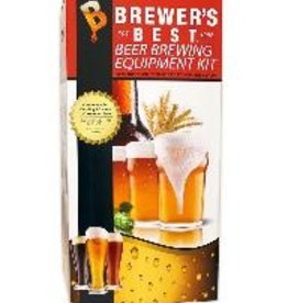 "BREWERS BEST The complete equipment package. Contains everything a beginning brewer needs except boiling pot, bottles and caps: 6.5 gallon ""Ale Pail"" Primary Fermenter with Grommeted Lid, 6.5 gallon ""Ale Pail"" Bottling Bucket with Spigot, 5 Gallon Glass Carboy, ""Home"
