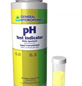 GENERAL HYDROPONICS PH TEST SOLUTION WITH VIAL