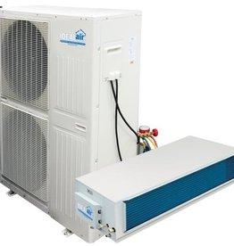 IDEAL-AIR Ideal-Air 4 Ton Mega-Split, 208/230 V 1ph, 48,000 BTU Heat Pump