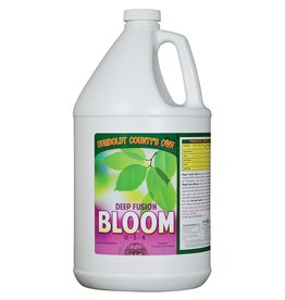 HUMBOLDT COUNTYS OWN Humboldt County's Own Deep Fusion Hydro Series fuses the power and effectiveness of chemical fertilizers with kelp and B1. Ideal for fine mist aeroponics systems, Deep Fusion Bloom Hydro (0-5-4) supplies large amounts of Phosphorus and Potassium for bloom