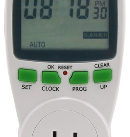 TITAN CONTROLS Titan Controls Apollo 17 Large LCD Display Digital Cycle Timer