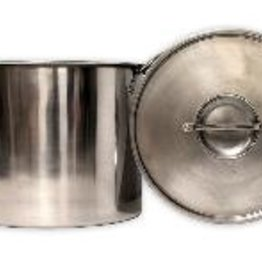 LD CARLSON ECO-POT 20 QUART STAINLESS STEEL BOILING POT WITH LID