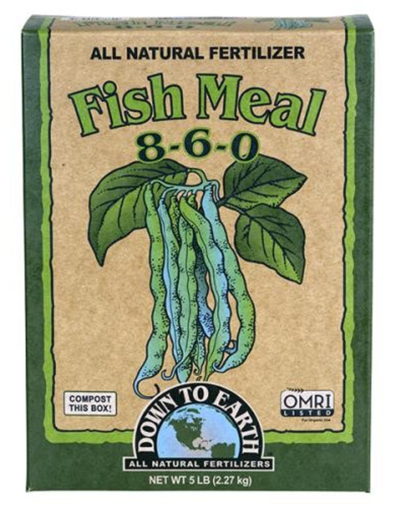 Down To Earth™ Down To Earth Fish Meal - 5 lb