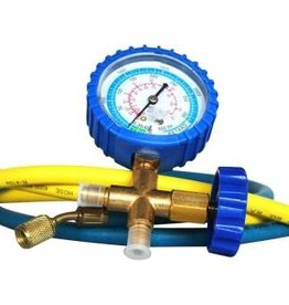 IDEAL-AIR Ideal-Air HVAC Compound Pressure-Vacuum Gauge and Hose Set