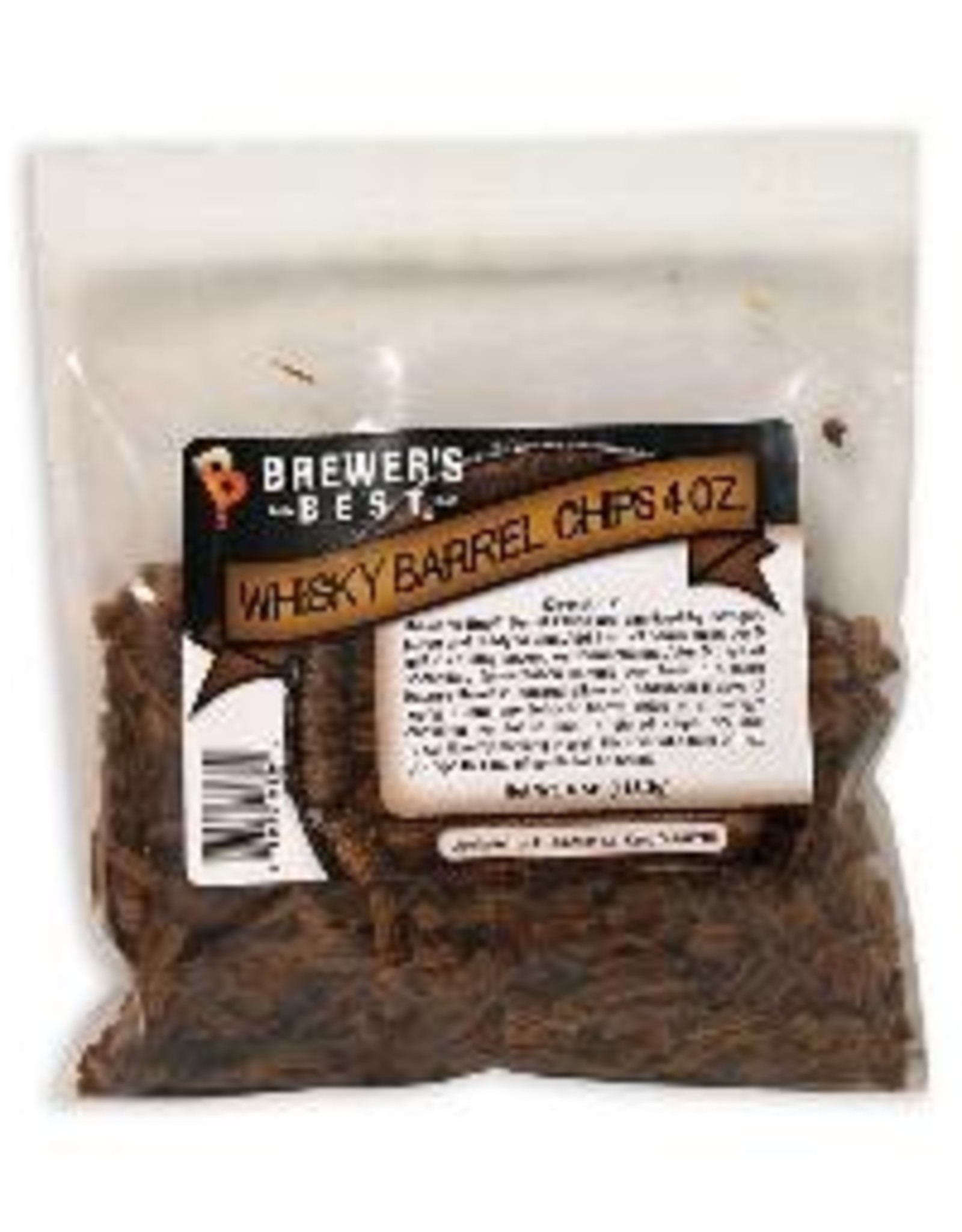 BREWERS BEST Brewer's Best® Barrel Chips are sanitized by nitrogen purge and ready to use. Add 2 oz. of barrel chips per 5 gallons during secondary fermentation. After 5 days of secondary fermentation sample your beer. If a more intense flavor is desired allow an addi