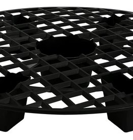GRO PRO Gro Pro® NX Level® Plant Elevation Platforms are specially designed to help raise your fabric or plastic pot out of the bottom of a saucer. This elevates the pot out of potential excess water that gathers in the saucers. This can be crucial in preventing