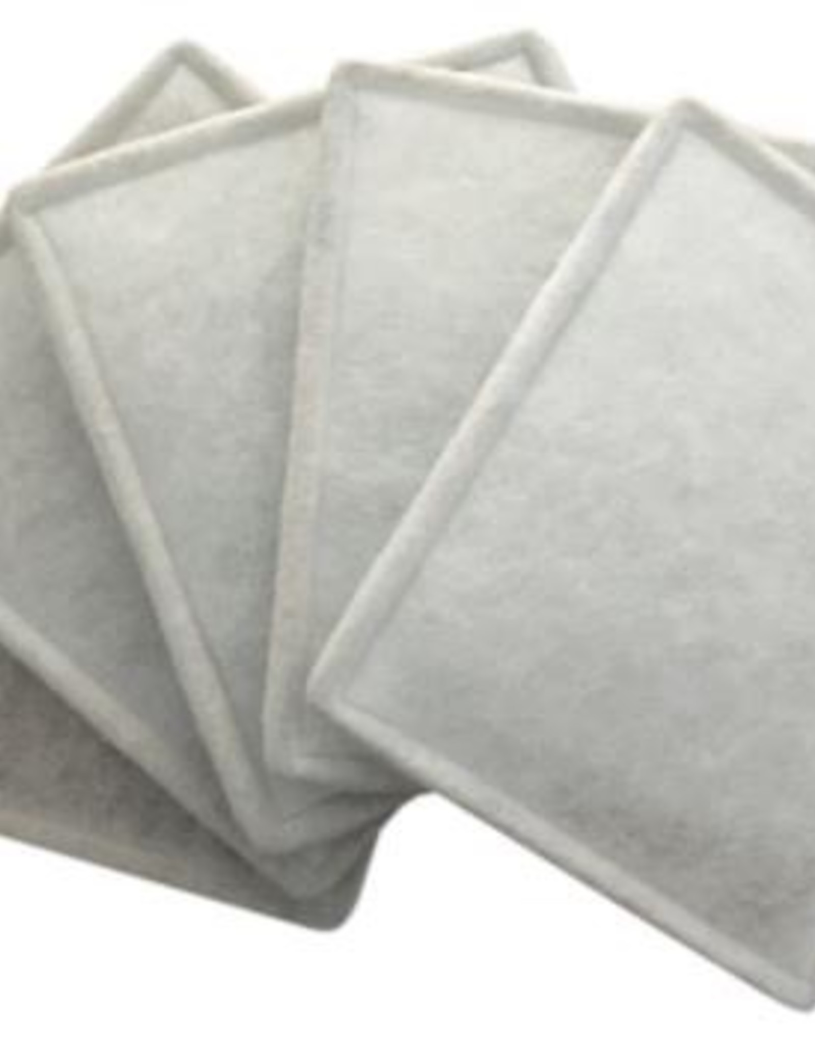 CAN FAN Can-Fan Replacement Intake Filter 8 in - 10  pack of 5