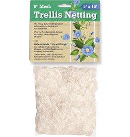 "HYDROFARM Trellis Netting, 5' x 15', 6"" mesh"