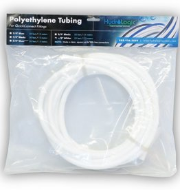 "HYDROLOGIC 1/2"" white tubing pack - 25 ft."