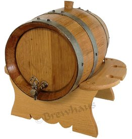Brewhaus Premium Oak Barrel Set- 4L- Charred