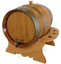 Brewhaus Premium Oak Barrel Set- 8L- Charred