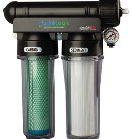HYDROLOGIC Removes 98%+ of all contaminants in your tap water. Leading the industry in efficiency the Stealth has a 2:1 waste to product water ratio. Optional 1:1 ratio flow restrictor saves 50% more waste water. Customized for gardening and hydroponics. The Stealth