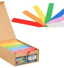 GROWERS EDGE Grower's Edge Plant Stake Labels Multi-Color 100 Pack