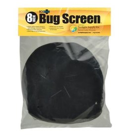 ECOPLUS Black Ops Bug Screen w/ Active Carbon Insert 8 in