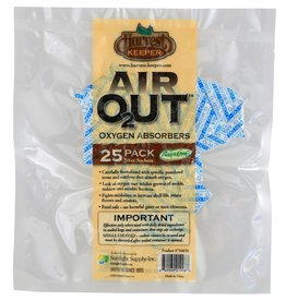 Harvest Keeper Harvest Keeper Air Out Oxygen Absorber 50 cc (1=25/Bag)