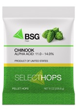 HOPUNION Origin: Washington, USA. Developed by the USDA breeding program and released in 1985 as a high-alpha variety, Chinook eventually found traction among craft brewers as a unique aroma and flavor hop. Its ancestry includes Petham Golding and USDA 63012.<br /> <br /> Usa