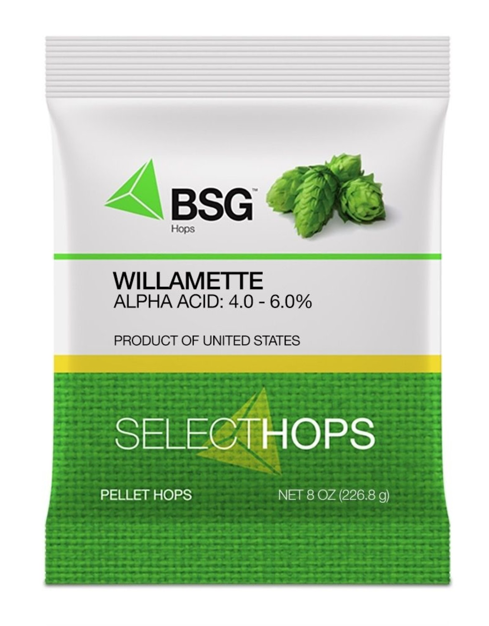 bsg Willamette (US) Hop Pellets 8 oz