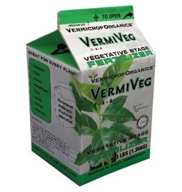 GENERAL HYDROPONICS Vermicrop VermiVeg Vegetative Stage Fertilizer 3 lb