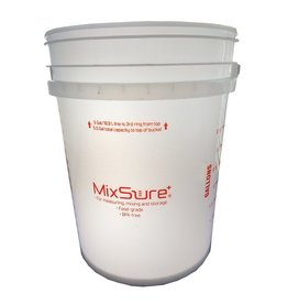 MEASURE MASTER MixSure+ Measuring Bucket, 5 gal