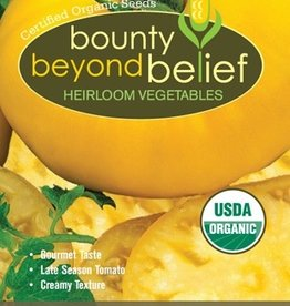 BBB SEEDS Tomato, Organic Yellow Brandywine