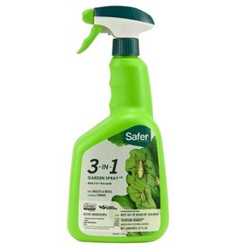 SAFER BRAND Safer 3-in-1 Garden Spray II RTU Quart