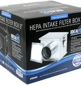 IDEAL-AIR Ideal-Air HEPA Intake Filter Box 6 in