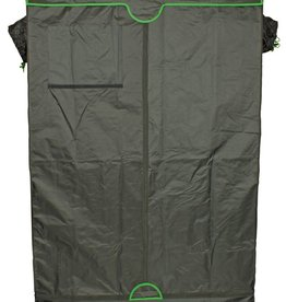SUN HUT Sun Hut The Big Easy Grow Tents are enclosed greenhouses that have a durable, lightweight and light-tight 190D outer material with a highly reflective interior surface. The Big Easy has reinforced stitching in high wear areas and has a new improved zipper
