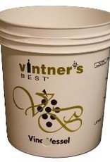 "VINTNER'S 7.9 GALLON BOTTLING BUCKET WITH 1"" HOLE"