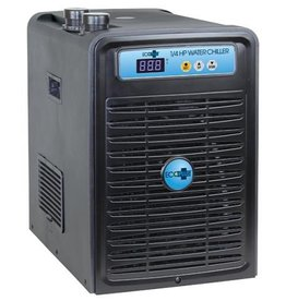 ECOPLUS The EcoPlus® Chillers are suitable for use in reservoirs, hydroponic systems and fresh or saltwater aquariums. Each chiller provides a high performance titanium heat exchanger for optimum performance and corrosion resistance. High quality made compressor