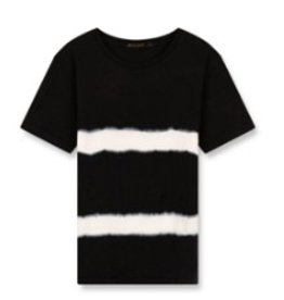 FINGER IN THE NOSE E19 DALTON Black Tie & Dye - Boy Knitted Jersey Short Sleeves T-Shirt