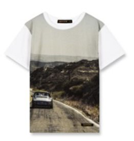 FINGER IN THE NOSE E19 DALTON White Road - Boy Knitted Short Sleeves T-Shirt
