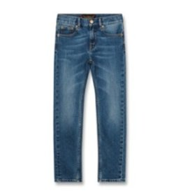 FINGER IN THE NOSE E19 ICON Authentic Blue - Unisex Woven 5 Pockets Slim Fit Jeans
