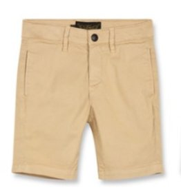 FINGER IN THE NOSE E19 ALLEN Sand - Boy Woven Chino Fit Bermuda Shorts
