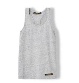 FINGER IN THE NOSE E19 GWENN Heather Grey - Girl Knitted Jersey Tank Top