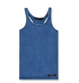 FINGER IN THE NOSE e19 GWENN Kraft Blue - Girl Knitted Jersey Tank Top