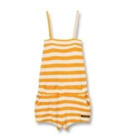 FINGER IN THE NOSE E19 LIV Mandarin Stripes - Girl Knitted Sleeveless Short Overall