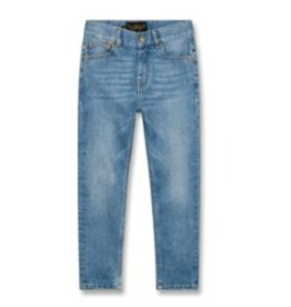 FINGER IN THE NOSE E19 EWAN Light Blue Denim - Boy Woven 5 Pockets Comfort Fit Jeans