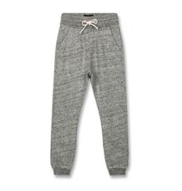 FINGER IN THE NOSE E19 SPRINT Heather Grey - Unisex Knitted Fleece Jogging Pants
