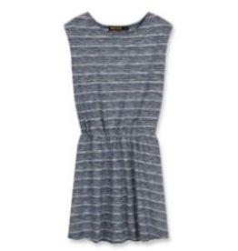 FINGER IN THE NOSE E19 BOBBIE Kraft Stripes - Girl Knitted Sleeveless Jersey Dress