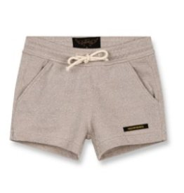 FINGER IN THE NOSE E19 TRINITY Champagne Glitter - Girl Knitted Mini Shorts