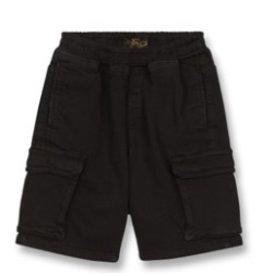 FINGER IN THE NOSE E19 SHORTBEACH Summer Black - Boy Woven Jogging Shorts